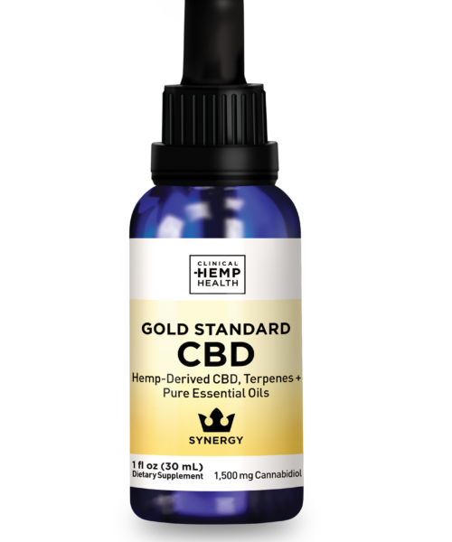 Clinical Hemp Health Gold Standard CBD Oil 1500 mg | Buy CBD Online Canada