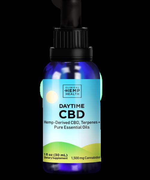 Clinical Hemp Health Daytime CBD Oil 1500 mg | Buy CBD Online Canada