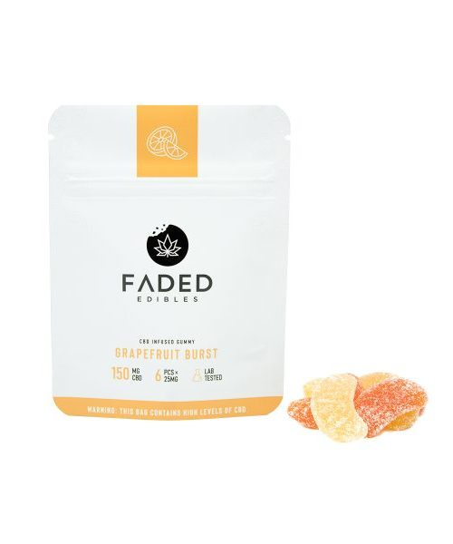 Faded CBD Grapefruit Burst 150 mg | Buy CBD Online Canada