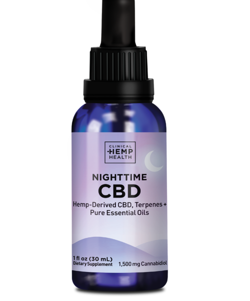 Clinical Hemp Health Nighttime CBD Oil 1500 mg   Buy CBD Online Canada