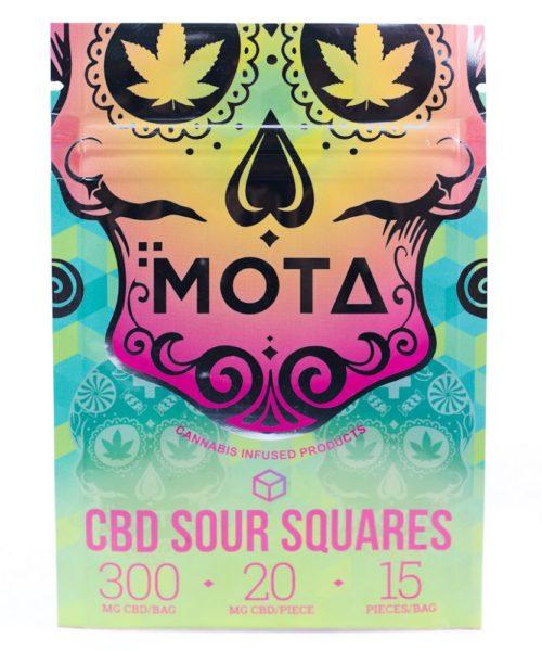 MOTA CBD Sour Squares | Buy CBD Online Canada