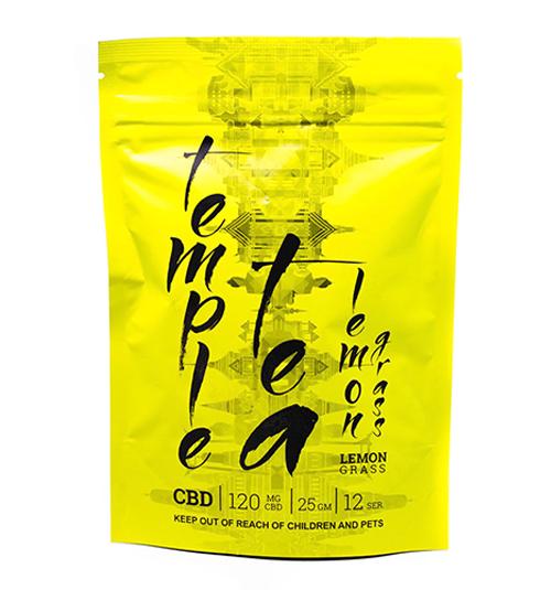Temple Tea LemonGrass CBD | Buy CBD Online Canada
