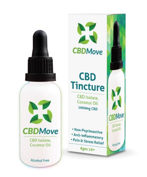 CBD Move Tincture - Original | Buy CBD Online Canada