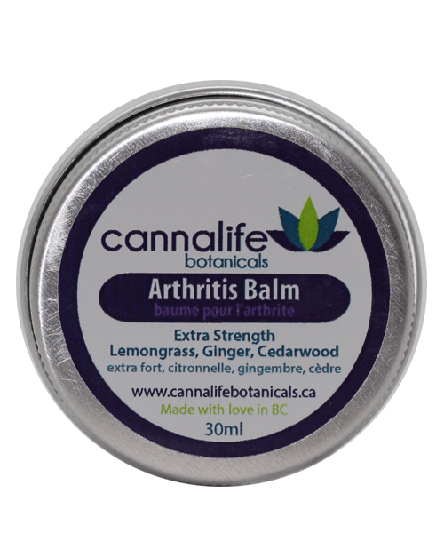 Cannalife Botanicals Arthritis Balm – Extra Strength 30ml | Buy CBD Online Canada