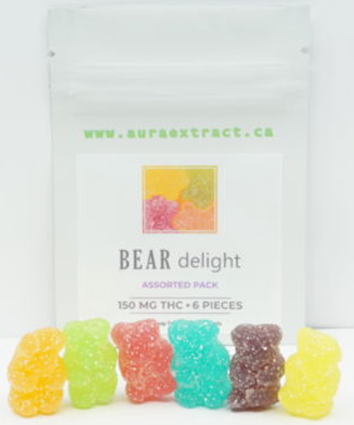 Aura Gummy Bears - Assorted Pack | Buy CBD Online Canada