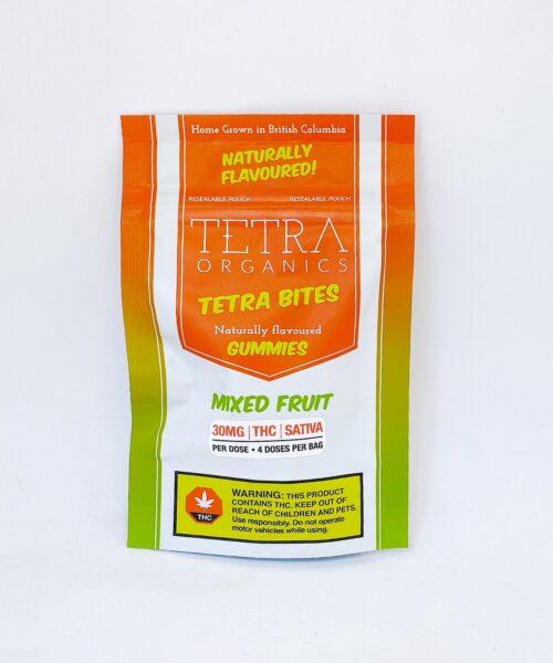 Tetra Organics Tetra Bites Sativa THC Gummies