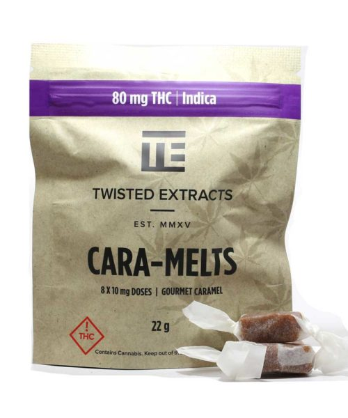 Twisted Extracts Indica Cara-Melts | Buy CBD Online Canada