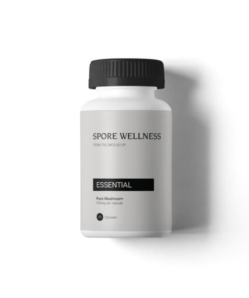 Spore Wellness Essential front | CBD & Shrooms