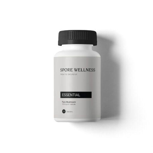 Spore Wellness Essential front | CBD & Shrooms