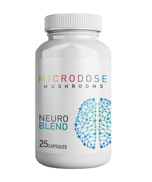 Microdose Mushrooms NEURO BLEND | CBD & Shrooms Canada