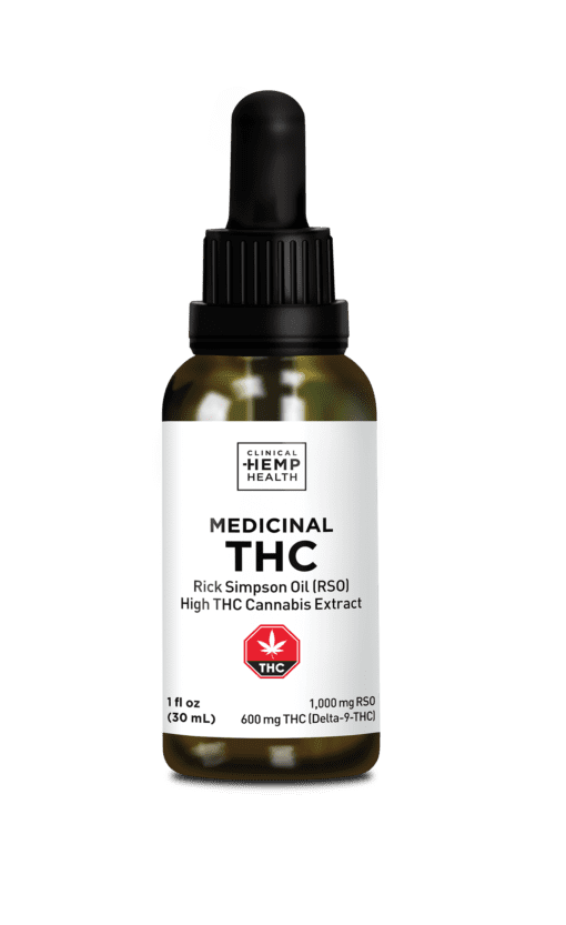Clinical Hemp Health Medicinal THC 1000mg 30mL
