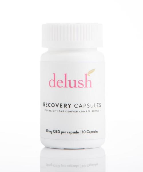 Delush CBD Recovery Capsules