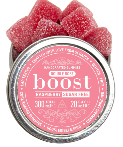 Boost 300mg THC Sugar-Free Gummies