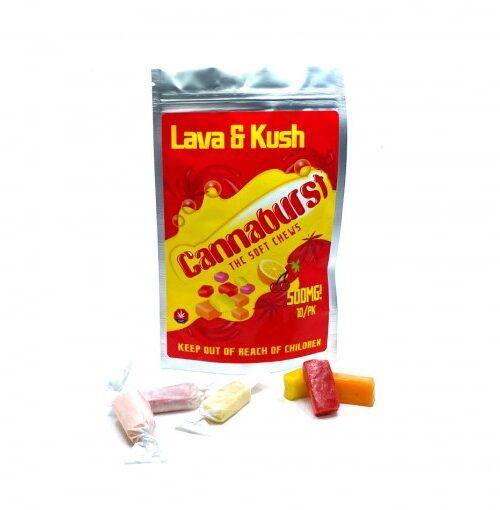 Lava & Kush Cannaburst Fruit Chews