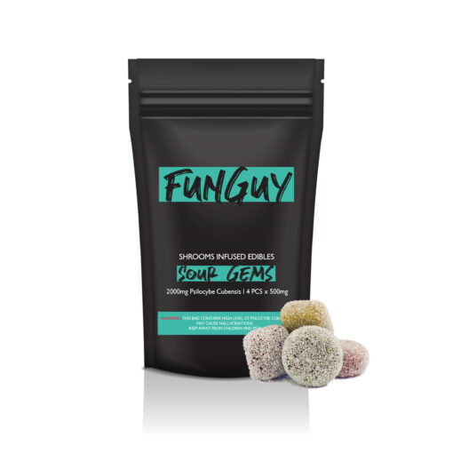 FunGuy Sour Gems Magic Mushroom Edibles