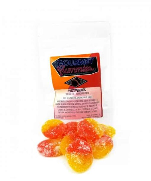 Gourmet Gummies Fuzzy Peaches