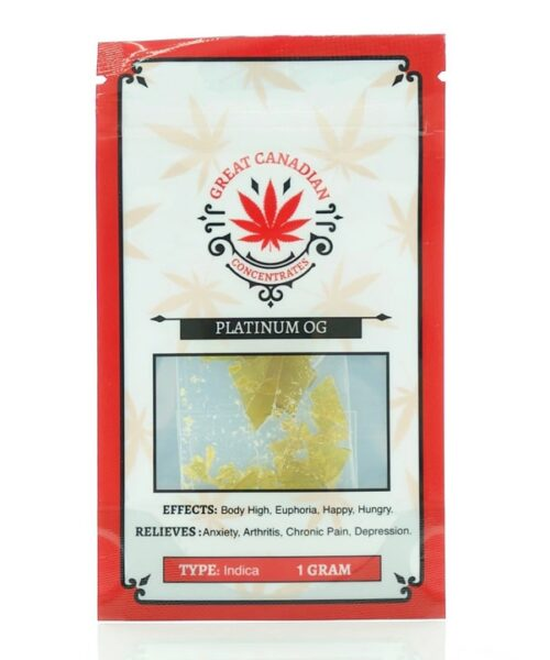 great canadian concentrates platinum og shatter