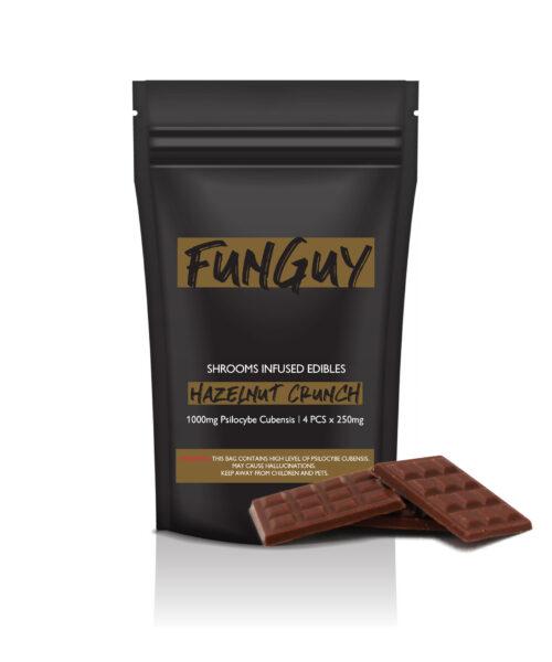 Fun Guy Hazelnut Crunch Magic Mushroom Edibles
