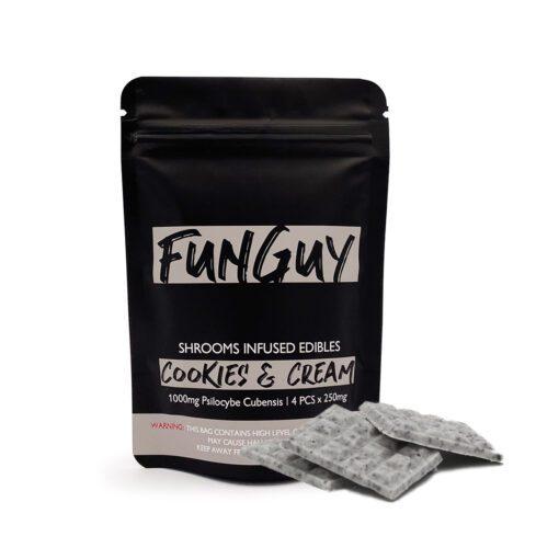 FunGuy Cookies & Cream Magic Mushroom Edibles