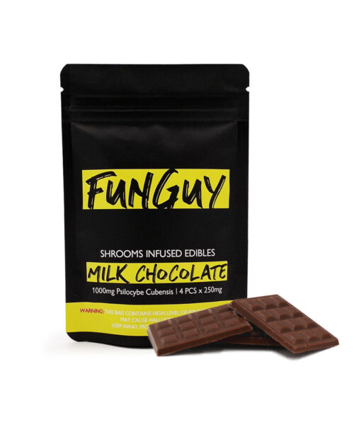 FunGuy Milk Chocolate Magic Mushroom Edibles