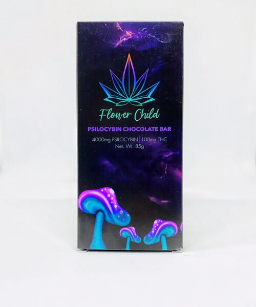 Psilocybin THC Magic Mushroom Edibles Flower Child Chocolate Bar