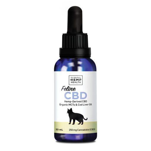 Cats Feline CBD Clinical Hemp Health