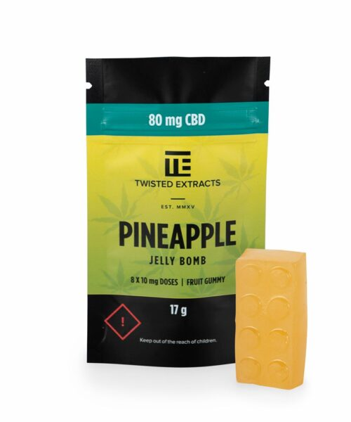 Twisted Extracts CBD Edibles Gummies