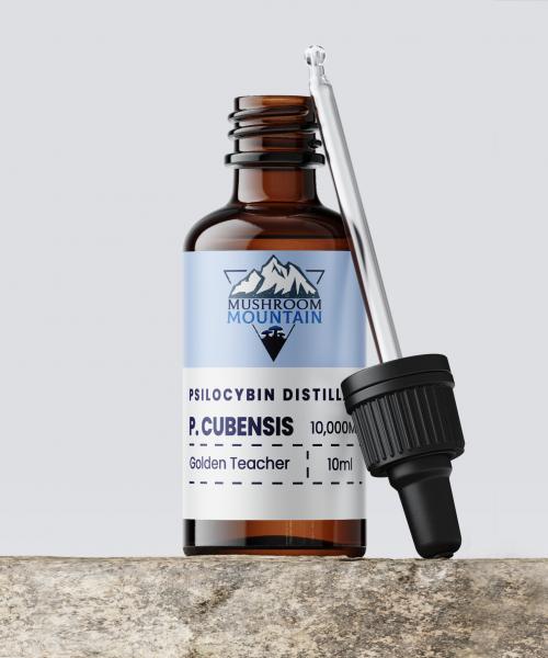 Mushroom Mountain Psilocybin Tincture Microdose